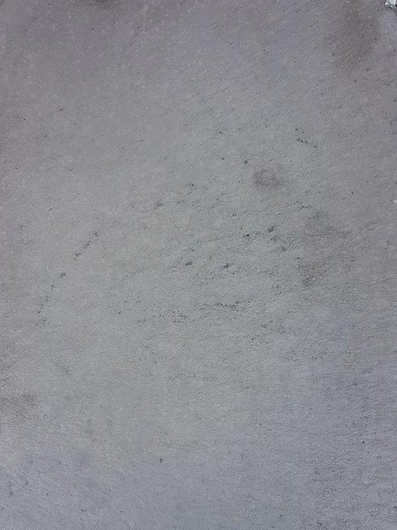 Nr.11 - Zement grau, abgeglettet, verhärtet & imprägniert.