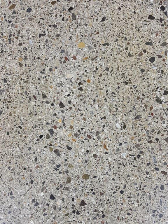 Nr.2 - Zement grau, Terrazzo-Schliff, Oberflächenverhärtet & imprägniert