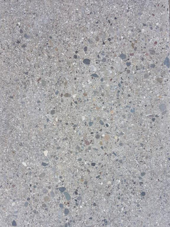 Nr.3 - Zement grau, Oberfläche weiss eingefärbt, Oberflächenverhärtet & imprägniert