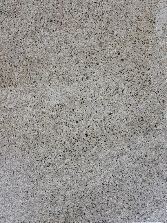 Nr.4 - Sandschliff, Zement weiss eingefärbt, 2% Titandioxid, Oberflächenverhärtet & imprägniert
