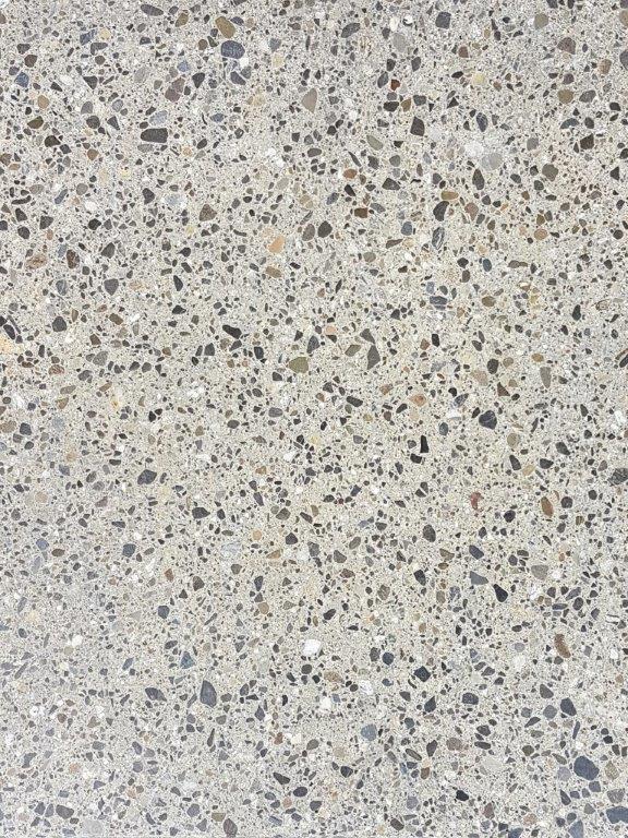 Nr.8 - Zement grau, Terrazzo-Schliff, Oberflächenverhärtet & imprägniert
