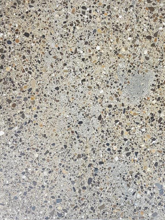 Nr.9 - Zement grau, Terrazzo-Schliff, Oberflächenverhärtet & imprägniert